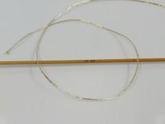 Metalická bavlna - zlatá