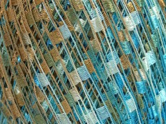Mini Ladder - modrosvětlehnědá