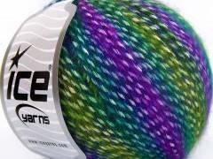 Mirella - zelenofialové odstíny