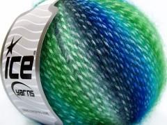 Mirella - zelenomodré odstíny