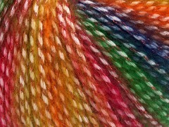 Mirella - zlatočervenozelenomodrá