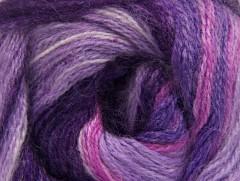 Mohér aktiv - fialovopurpurovorůžová