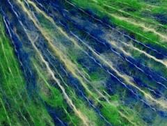 Mohér fajn - zelenomodrožlutá