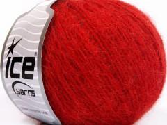 Mohér light - tmavě červená