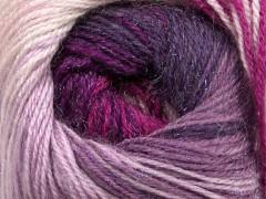 Mohér magic glitz - fuchsiovolevandulovofialovopurpurová