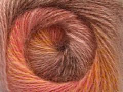 Mohér pastel - velbloudílososovorůžovozlatá