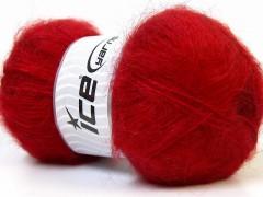 Mohér - tmavě červená