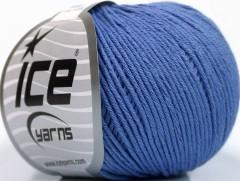 Organická dětská bavlna - fialová