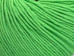 Organická dětská bavlna - světle zelená