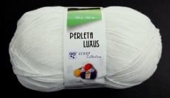 Perleta luxus - bílá přírodní 82305