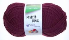 Perleta luxus - tmavě vínová 53356