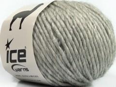 Peru Alpaka bulky - světle šedá 2