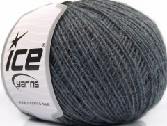 Peru Alpaka fine - antracitově černá