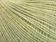 Peru Alpaka fine - světlázelenámelánž
