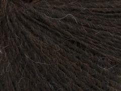 Peru Alpaka fine - tmavě hnědá 1