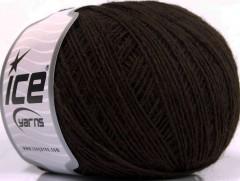 Peru Alpaka fine - tmavě hnědá