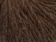 Peru alpaka superbulky - hnědá