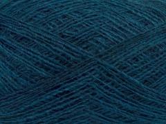 Peru alpaka superfajn - modrozelená