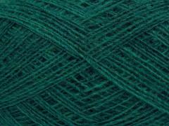 Peru alpaka superfajn - smaragdově zelená