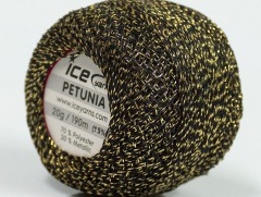 Petunia - černozlatá