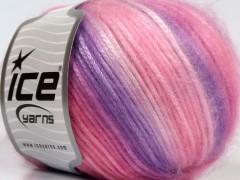 Picasso - růžovofialové odstíny