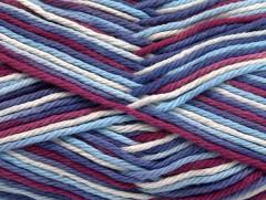 Plaid bavlna - kaštanovomodrofialová
