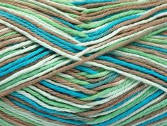 Plaid bavlna - tyrkysovomátovovelbloudí