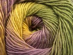 Primadonna - fialovokhakižlutá