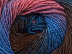 Primadonna - hnědomodrorůžová