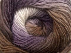 Primadonna - hnědopurpurovobílá
