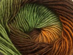 Primadonna - hnědozelené odstíny