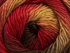 Primadonna - hnědozelenočervená