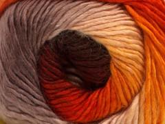 Primadonna - hnědozlatooranžovošedá