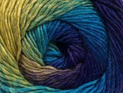 Primadonna - purpurovězelenétyrkysová