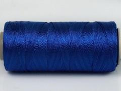 Připlétací příze /vyšívací/ - modrá