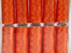 Připlétací příze /vyšívací/ - oranžová