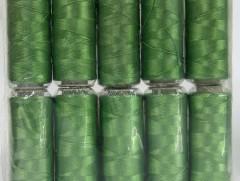 Připlétací příze /vyšívací/ - zelená