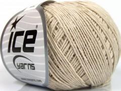 Přírodní baby bavlna - béžová 1