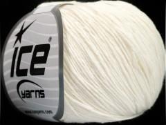 Přírodní baby bavlna - krémová