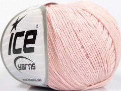 Přírodní baby bavlna - pudrově růžová