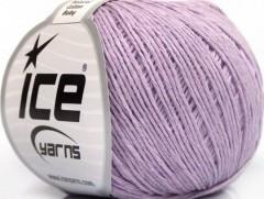 Přírodní baby bavlna - světle fialová