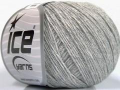 Přírodní baby bavlna - světle šedá