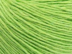 Přírodní baby bavlna - světle zelená