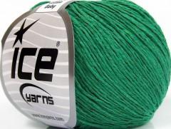 Přírodní baby bavlna - zelená