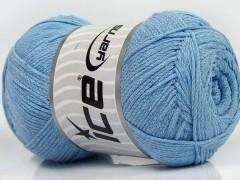 Přírodní bavlna air - dětská modrá