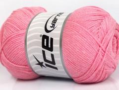 Přírodní bavlna air - dětská růžová
