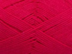 Přírodní bavlna air - fuchsiová