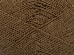 Přírodní bavlna air - hnědá