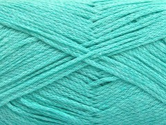 Přírodní bavlna air - mátově zelená