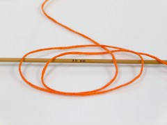 Přírodní bavlna air - oranžová